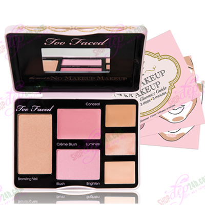 KIT Too Faced The Secret To No Makeup Makeup Fresh & Flawless Face Palette