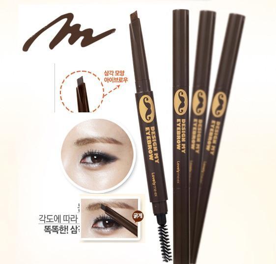 [Thefaceshop] Chì kẻ chân mày Lovely MEEX Design My Eyebrow