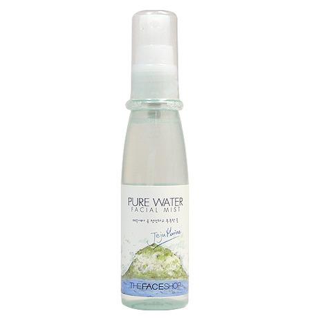 [Thefaceshop] Xịt khoáng muối biển Pure Water Facial Mist - Jeju Marine