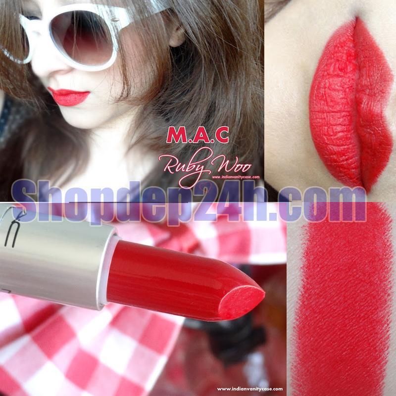 Son MAC USA - Màu ruby woo