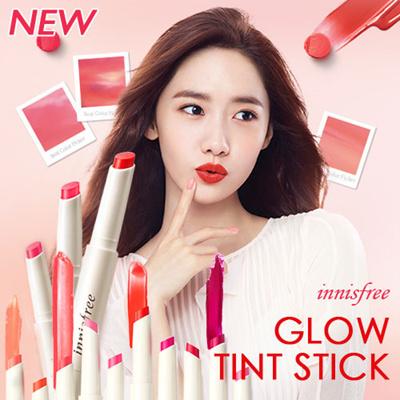 [INNISFREE] Son tint dạng thỏi Glow Tint Stick - 1.8g