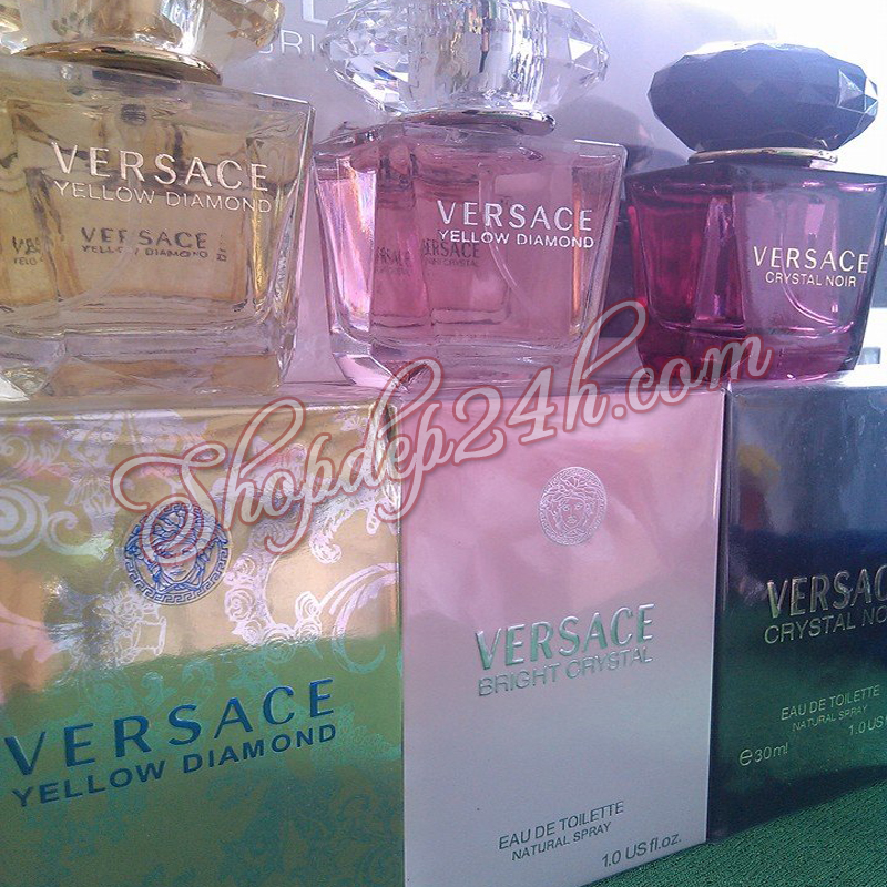 Nước hoa nữ Set 3 Versace Miniatures Collection 30ml x 3