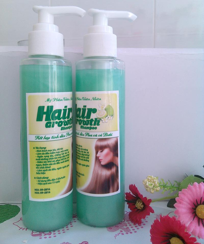 Dầu gội tinh dầu bưởi kích mọc dài tóc nhanh