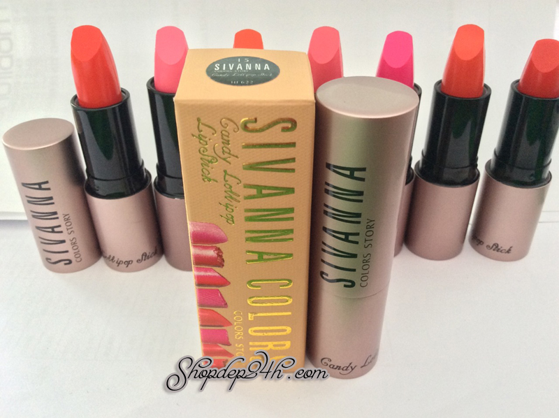 Lipstick colors story Sivanna HF 622