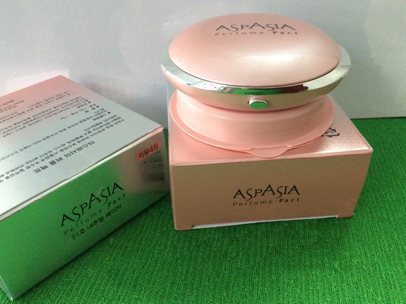ASPASIA Perfume Pact-Phấn phủ trang điểm số 21-13g kèm lõi thay