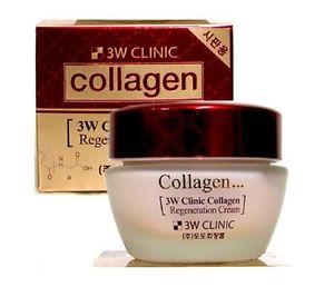 [3W CLINIC] Kem dưỡng trắng bổ sung Colagen chống lão hoá