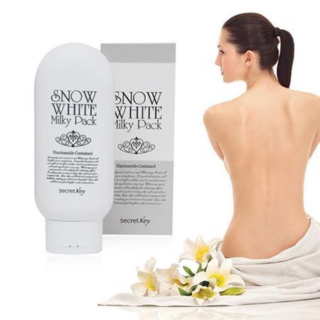 [Secret Key] Tắm trắng toàn thân Snow White Milky Pack 200g