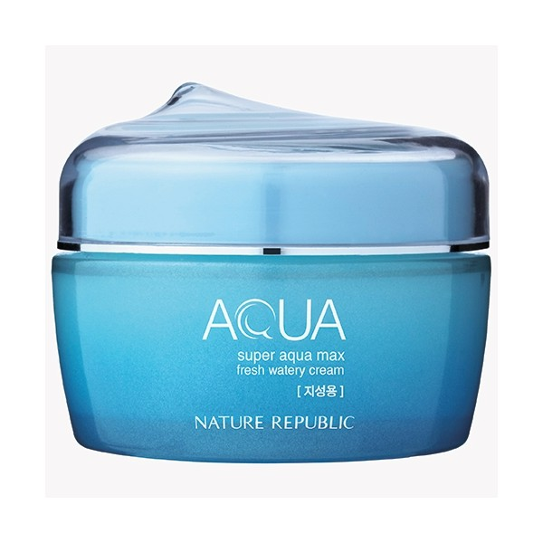 [Nature Republic] SUPER AQUA MAX Fresh Watery Cream 80ml