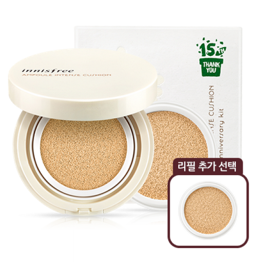 [Innisfree] Phấn nước Innisfree Ampoule Intense Cushion SPF34+ PA++