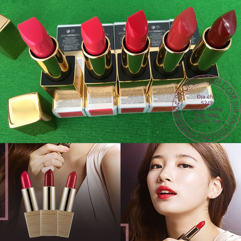[The Face Shop] Collagen Ampoule Lipstick