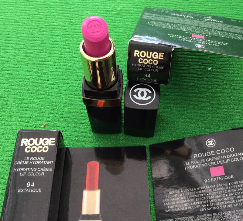 Chanel Rouge mini sample lipstick #94 mademoiselle
