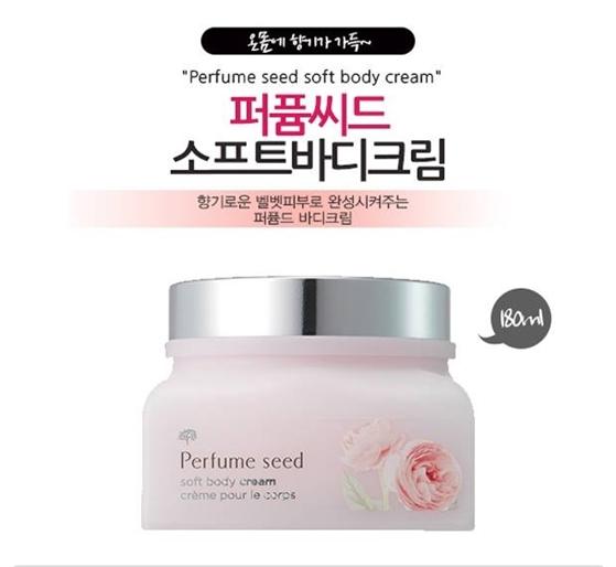 [THE FACE SHOP]  Kem dưỡng thể hương nước hoa Perfume Seed Soft Body Cream - 180ml (các loại)