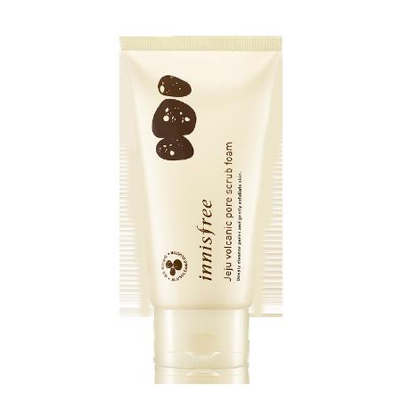 [Innisfree] Sữa Rửa Mặt Tẩy Tế Bào Chết Innisfree Jeju Volcanic Pore Scrub Foam 150ml