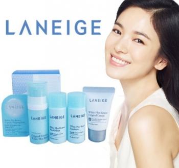 [Laneige] Bộ kit dưỡng trắng - Laneige White Plus Renew Trial Kit (5 Items)mới