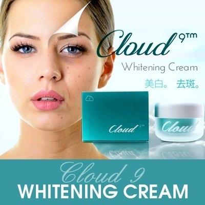 Kem dưỡng trắng da, trị nám, tàn nhang Cloud 9 Whitening Cream