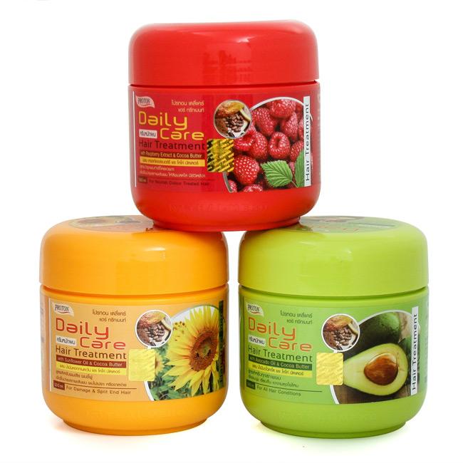 Kem ủ tóc Daily Care Bơ, Hoa Hướng Dương, Quả Mâm Xôi Thái Lan