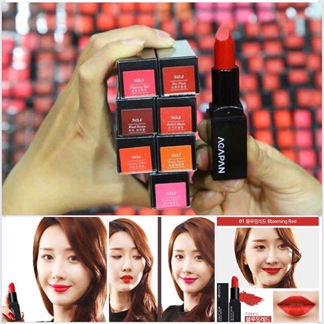 Son thỏi Agapan matte lipstick