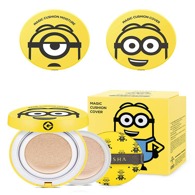 [Missha] Phấn nước Missha Minions Magic Cushion Cover SPF50+ PA+++