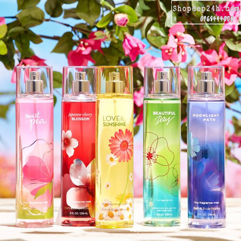 [Bath and Body Works] Xịt Thơm Toàn Thân Bath And Body Works Fine Fragrance Mist 236ml