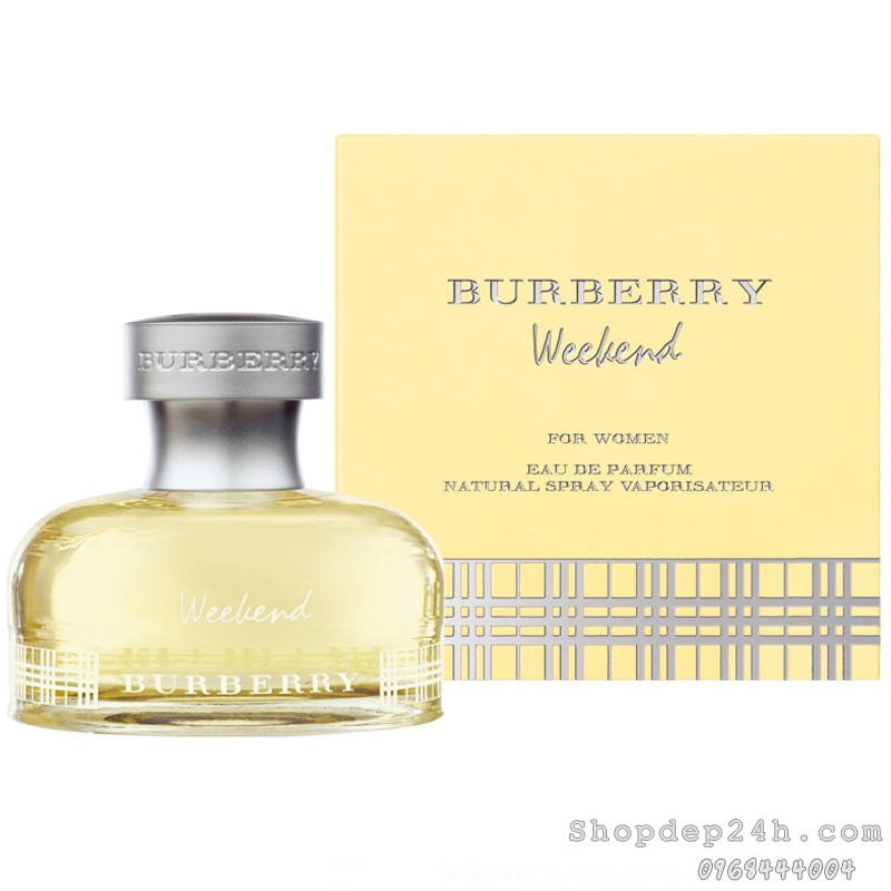 [Burberry] Nước hoa mini nữ Burberry Weekend For Women 4.5ml