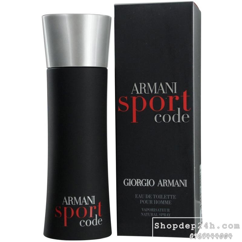 [Giorgio Armani] Nước hoa mini nam Giorgio Armani Sport Code 4ml