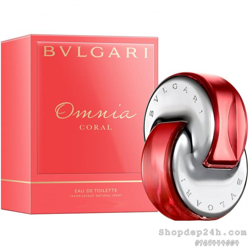 [Bvlgari] Nước hoa mini nữ Bvlgari Omnia Coral 5ml
