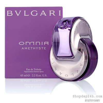 [Bvlgari] Nước hoa mini nữ Bvlgari Omnia Amethyste 5ml