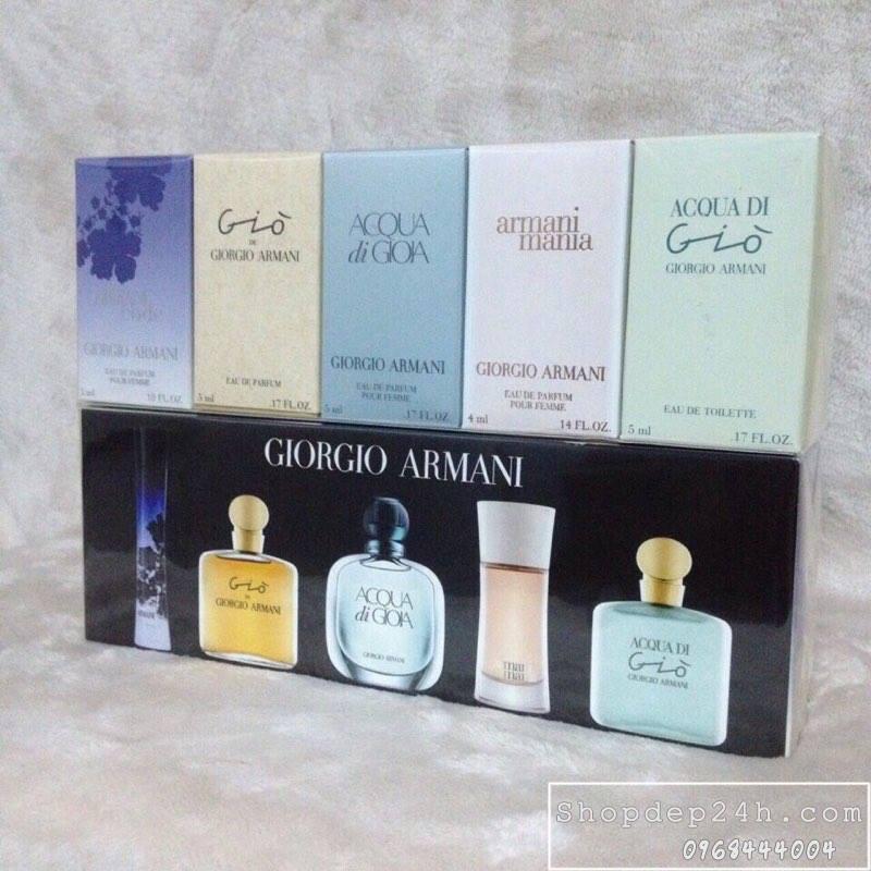 [Giorgio Armani] Set nước hoa mini nữ Giorgio Armani