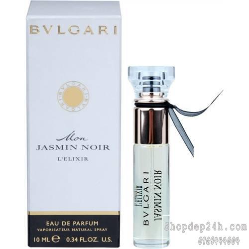 [Bvlgari] Nước hoa mini nữ Bvlgari Mon Jasmin Noir L'Elixir 10ml