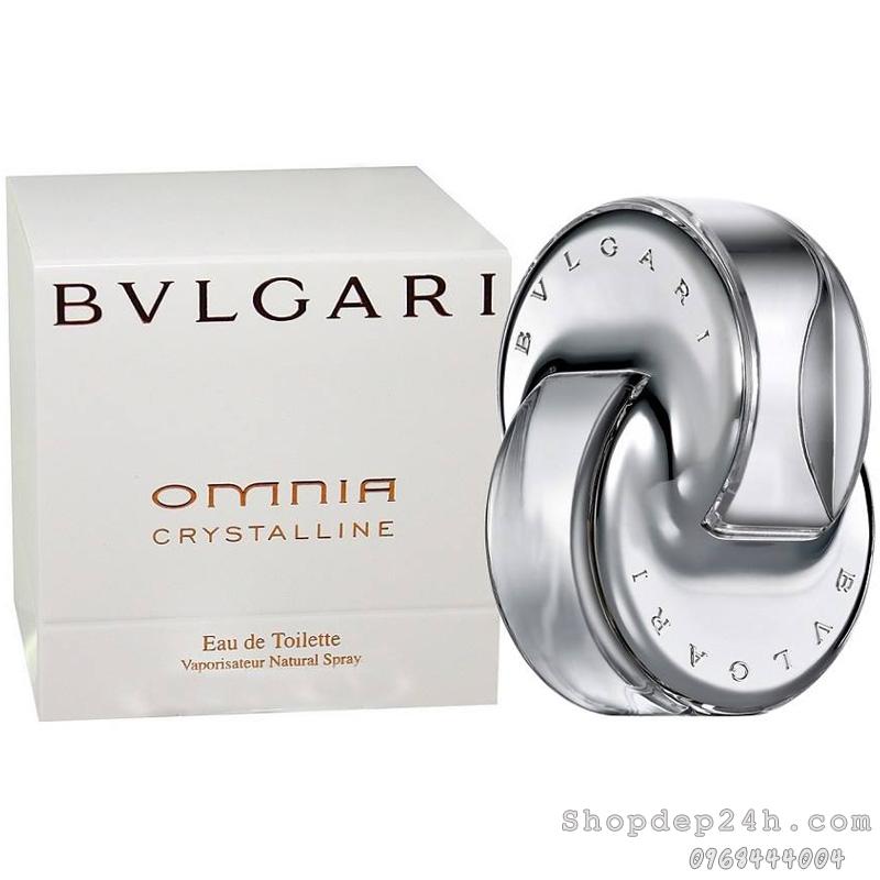 [Bvlgari] Nước hoa mini nữ Bvlgari Omnia Crystalline 5ml