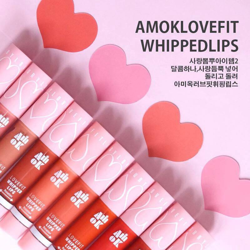 [Amok] Son kem Amok Lovefit Whipped Lips