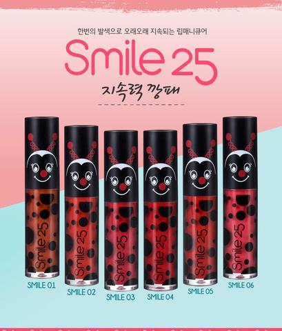 [Smile 25] Son kem lì Smile 25 Lip Manicure