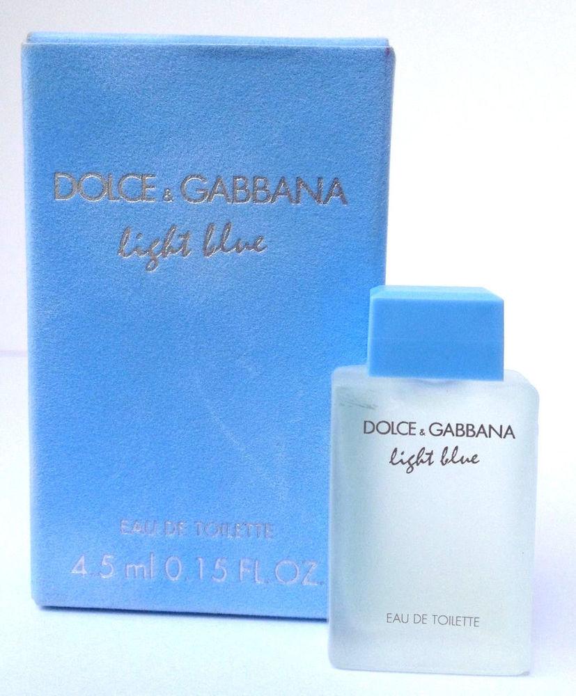 [Dolce & Gabbana] Nước hoa mini nữ Dolce & Gabbana Light Blue For Women 4.5ml