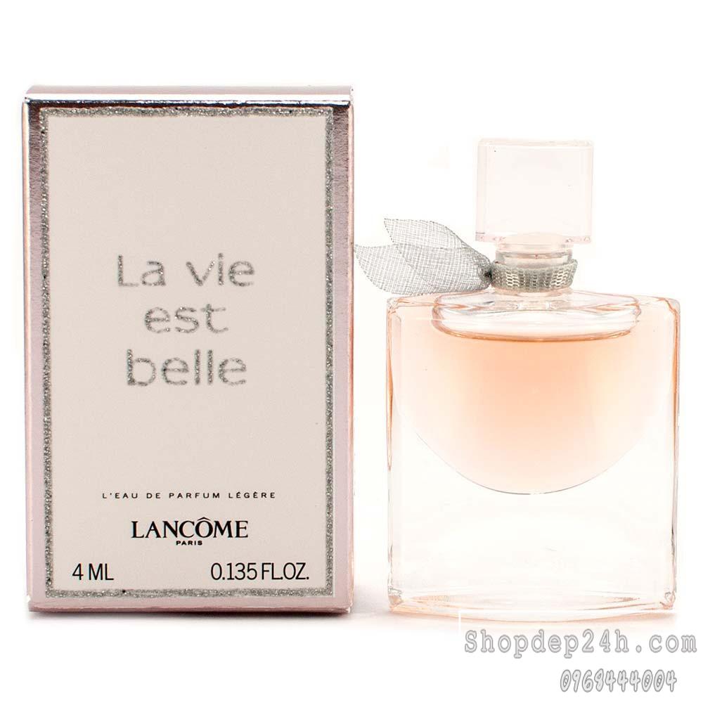 [Lancôme] Nước hoa mini nữ Lancôme La Vie Est Belle 4ml