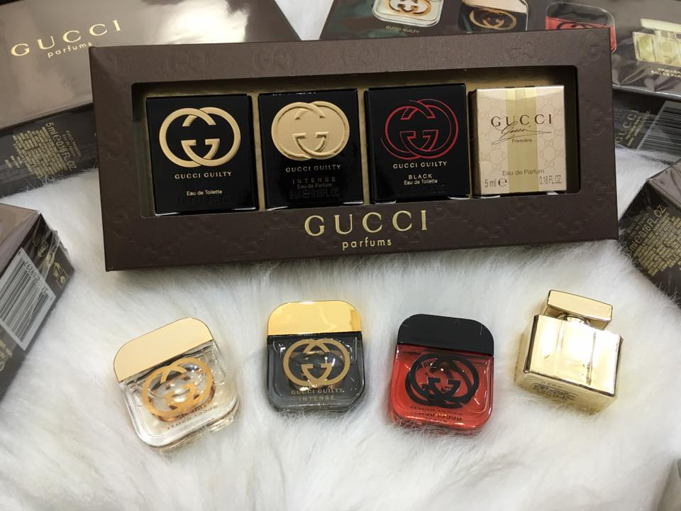[Gucci] Gift Set Gucci Variety By Gucci Set 4 Piece 5ml x4