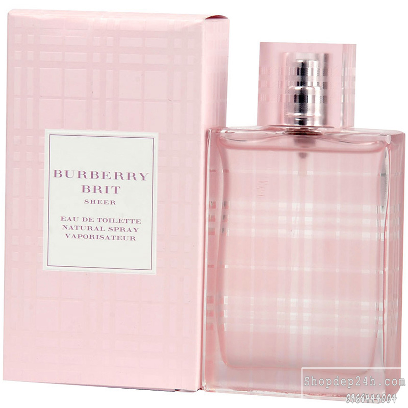 [Burberry] Nước hoa nữ Burberry Brit Sheer 100ml