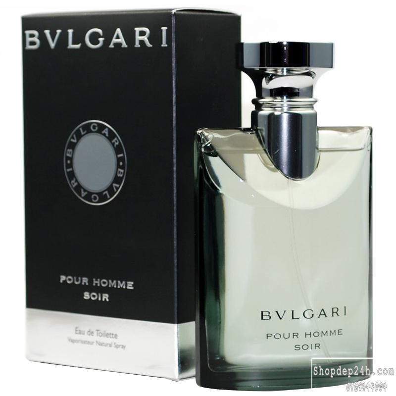 [Bvlgari] Nước hoa mini nam Bvlgari Pour Homme Soir 5ml