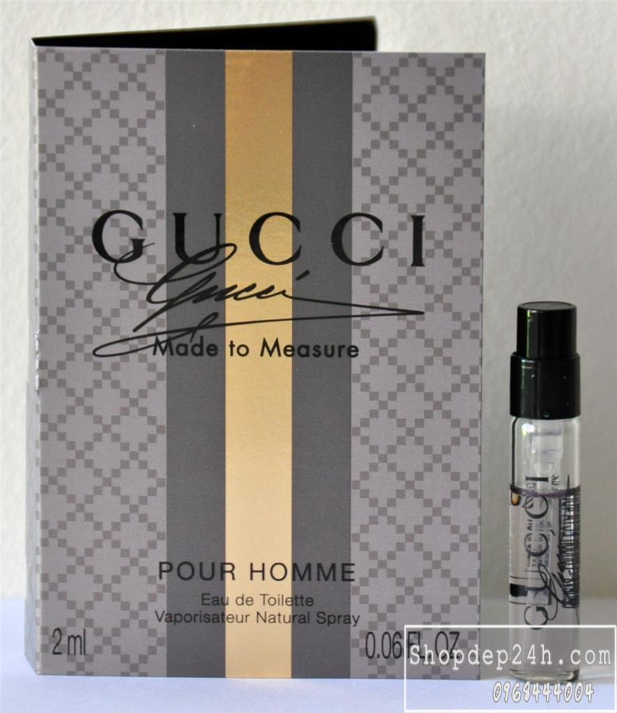 [Gucci] Vial các dòng nước hoa thương hiệu Gucci