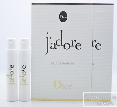 [Dior] Vial các dòng nước hoa thương hiệu Dior