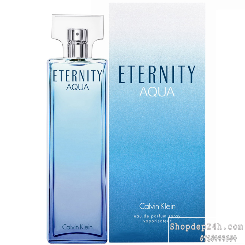 [Calvin Klein] Nước hoa nữ Calvin Klein Eternity Aqua For Women 100ml
