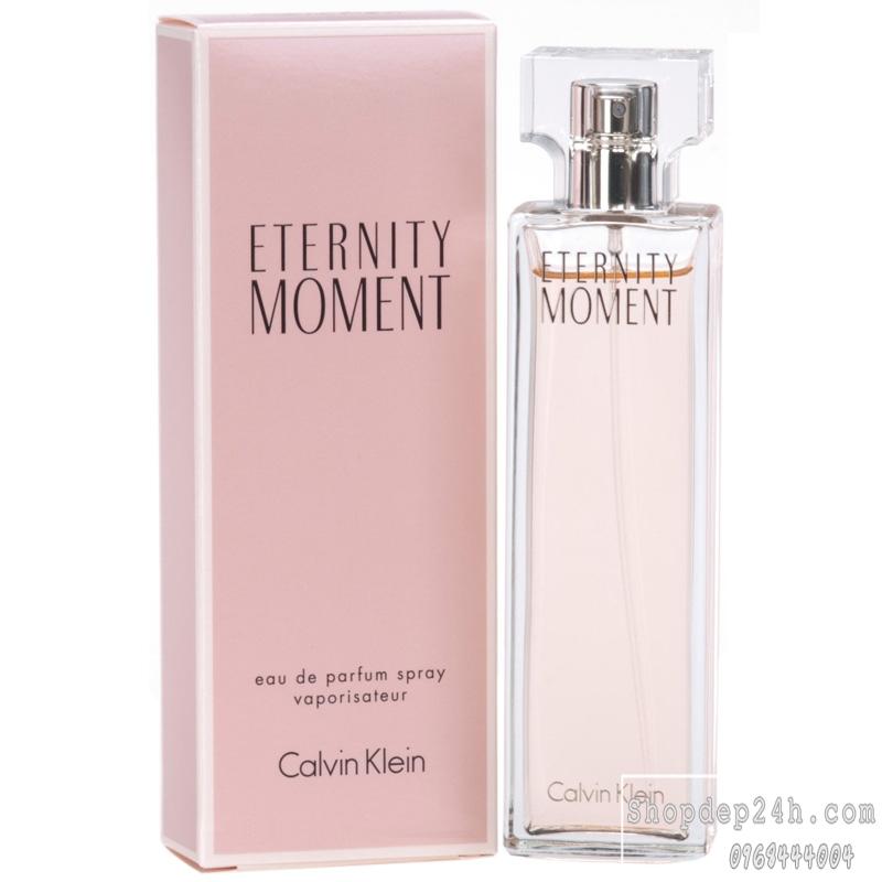 [Calvin Klein] Nước hoa nữ Calvin Klein Eternity Moment 100ml