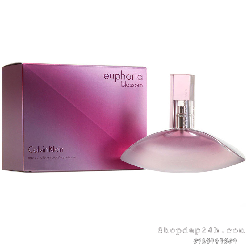 [Calvin Klein] Nước hoa nữ Calvin Klein Euphoria Blossom 100ml