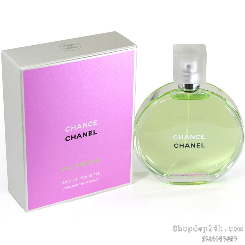 [Chanel] Nước hoa nữ Chanel Chance Eau Fraiche 100ml
