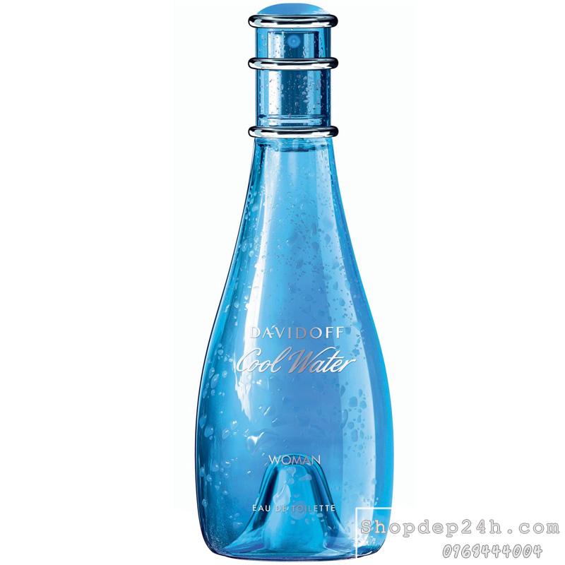 [Davidoff] Nước hoa nữ Davidoff Cool Water Woman 100ml