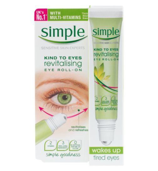 [Simple] Dưỡng mắt dạng lăn Simple Kind to Eyes Revitalizing Eye Roll-On