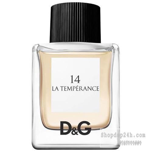 [Dolce & Gabbana] Nước hoa nữ Dolce & Gabbana 14 La Temperance Pour Femme 50ml