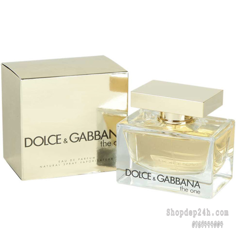 [Dolce & Gabbana] Nước hoa nữ Dolce & Gabbana The One Woman 75ml