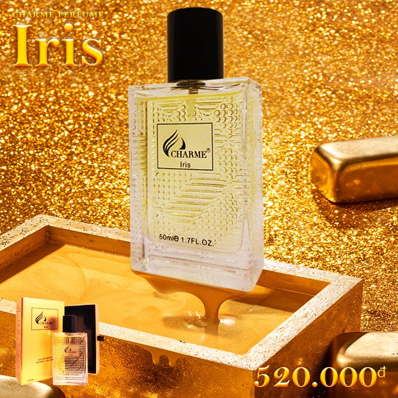 [Charme] Nước hoa nam Nước Hoa Charme Iris 50ml