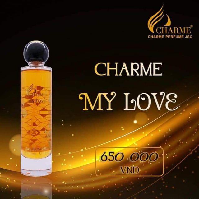 [Charme] Nước hoa nữ Charme My Love 100ml