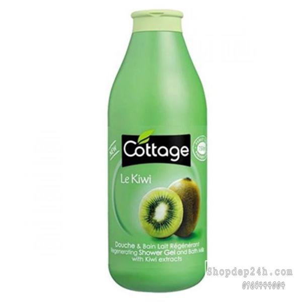 Sữa tắm nhập khẩu Cottage Le Kiwi Shower Gel 750ml